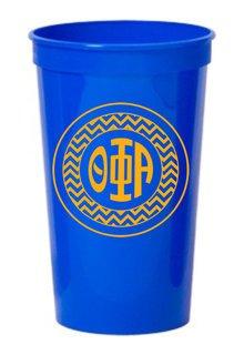 Theta Phi Alpha Monogrammed Giant Plastic Cup
