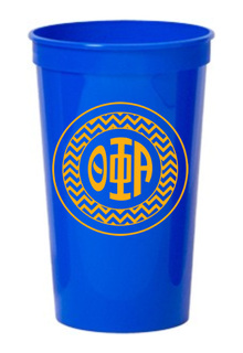 Theta Phi Alpha Monogrammed Giant Plastic Cup
