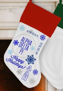 Alpha Delta Pi Christmas Stocking