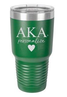 Alpha Kappa Alpha Vacuum Insulated Tumbler