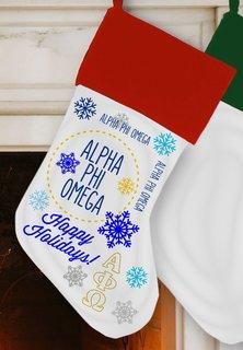 Alpha Phi Omega Christmas Stocking