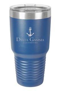 Delta Gamma Vacuum Insulated Mascot Tumbler