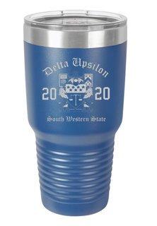 Delta Upsilon Insulated Tumbler