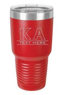 Kappa Alpha Vacuum Insulated Tumbler
