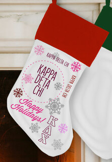 Kappa Delta Chi Christmas Stocking