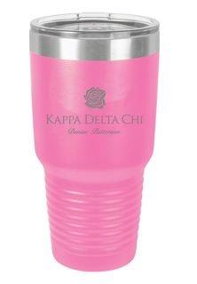 Kappa Delta Chi Vacuum Insulated Tumbler
