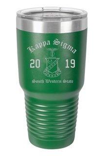 Kappa Sigma Insulated Tumbler