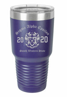 Sigma Alpha Epsilon Insulated Tumbler