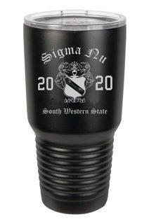 Sigma Nu Insulated Tumbler