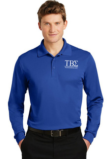 Tau Beta Sigma- $35 World Famous Long Sleeve Dry Fit Polo