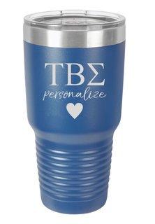 Tau Beta Sigma Vacuum Insulated Tumbler