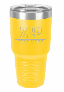 Zeta Psi Vacuum Insulated Tumbler