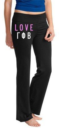 Sorority Fitness Yoga Pants SALE  39.95. - Greek Gear® 0009fd8c7dc3