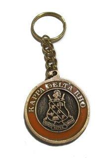 Kappa Delta Rho Metal Fraternity Key Chain