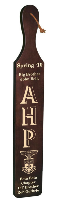 Alpha Eta Rho Deluxe Paddle