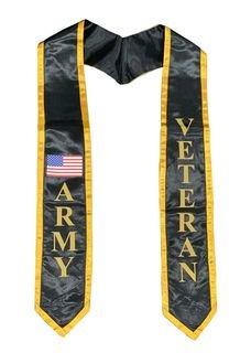 Military Graduation Stoles