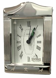 AKA Engraved Greek Desk Clock - 50% Off!