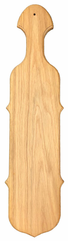 Giant - Blank Wood Bevel Paddle - Clearance