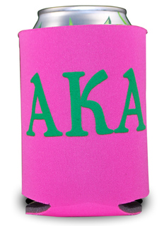 Alpha Kappa Alpha Pocket Can Cooler