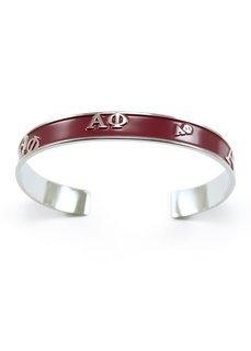Alpha Phi Bangle Bracelet