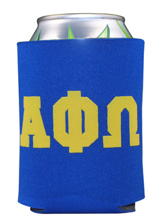 Alpha Phi Omega Pocket Can Cooler