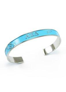 Alpha Xi Delta Bangle Bracelet