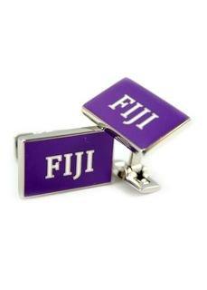 FIJI Fraternity Flag Cufflinks
