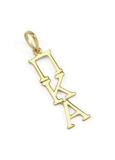 Pi Kappa Alpha Premiere Gold Lavaliere
