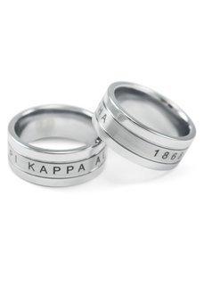 Pi Kappa Alpha Tungsten Ring