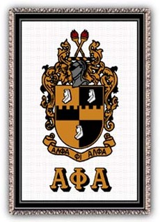 Alpha Phi Alpha Afghan Blanket Throw