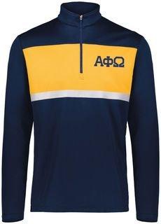 Alpha Phi Omega Prism Bold 1/4 Zip Pullover