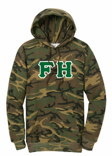 DISCOUNT-FarmHouse Fraternity Camo Pullover Hooded Sweatshirt