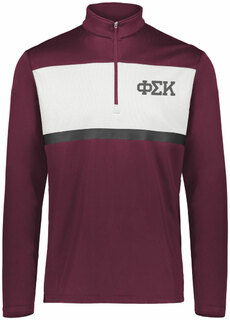 Phi Sigma Kappa Prism Bold 1/4 Zip Pullover