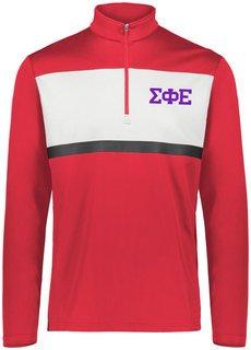 Sigma Phi Epsilon Prism Bold 1/4 Zip Pullover