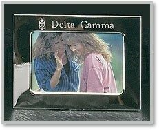 Sorority Silver Plate Picture Frame