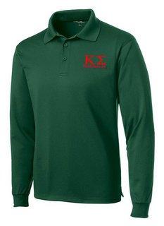 Kappa Sigma- $35 World Famous Long Sleeve Dry Fit Polo
