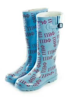 Sorority Rain Boots
