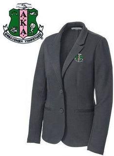 DISCOUNT-Alpha Kappa Alpha Crest - Shield Blazer