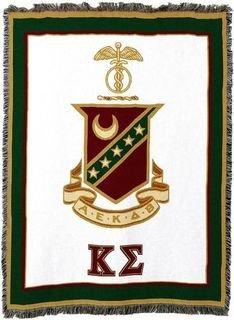 Kappa Sigma Afghan Blanket Throw