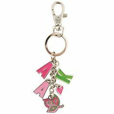 Alpha Kappa Alpha Charm Key Chains