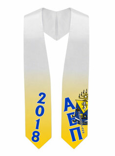 Alpha Epsilon Pi Super Crest - Shield Graduation Stole
