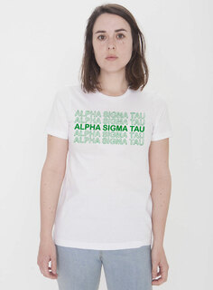 Alpha Sigma Tau Thank You For Shopping Tee - Comfort Colors