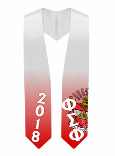 Phi Sigma Phi Super Crest - Shield Graduation Stole