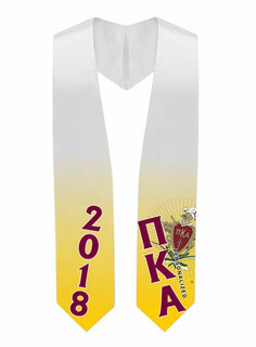 Pi Kappa Alpha Super Crest - Shield Graduation Stole