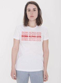 Sigma Alpha Iota Thank You For Shopping Tee - Comfort Colors