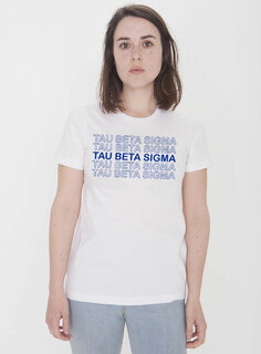 Tau Beta Sigma Thank You For Shopping Tee - Comfort Colors