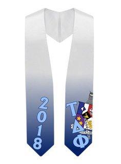 Tau Delta Phi Super Crest - Shield Graduation Stole