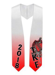 Tau Kappa Epsilon Super Crest - Shield Graduation Stole