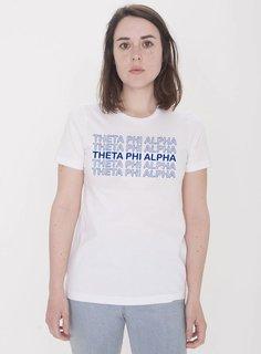 Theta Phi Alpha Thank You For Shopping Tee - Comfort Colors