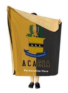 ACACIA Two Tone Sherpa Lap Blanket